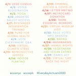 Recapping #EverydayActivism2020
