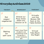 Recapping Weeks 1 and 2 of #EverydayActivism2020