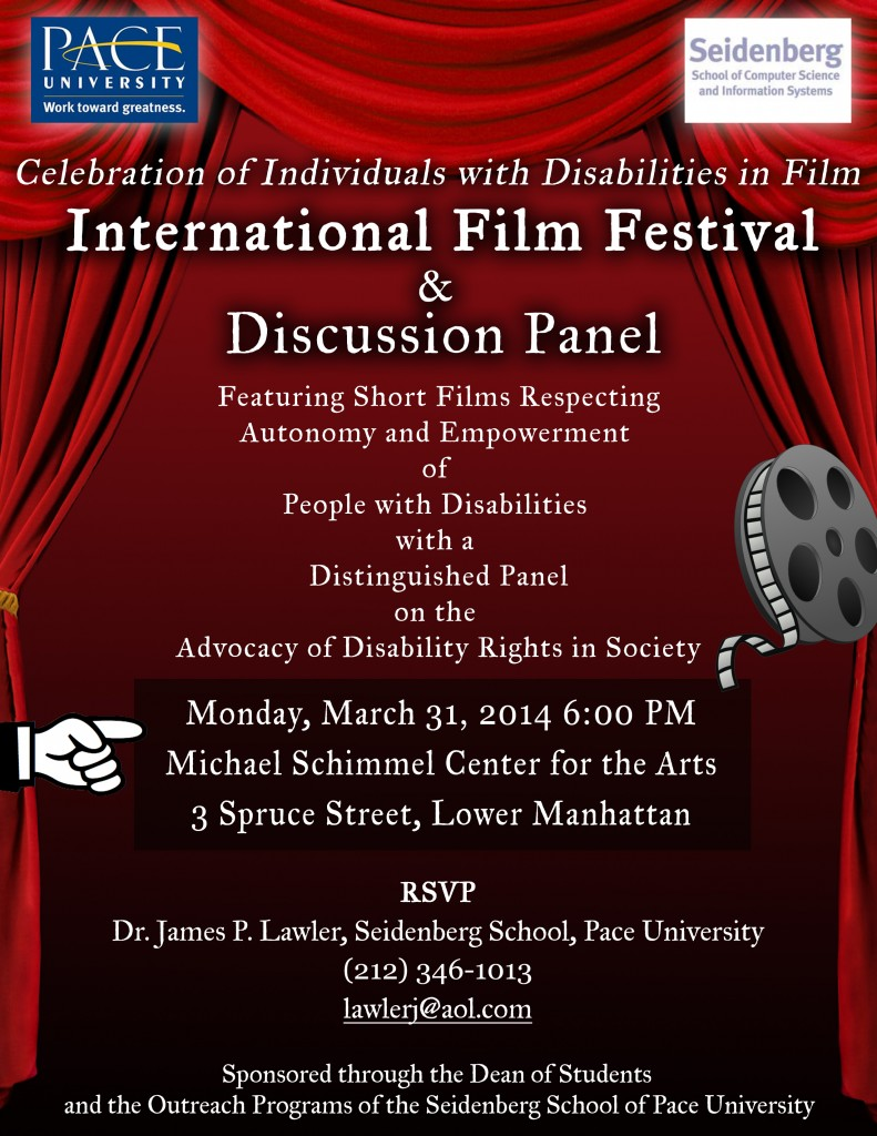 Seidenberg and AHRC Are Hosting an International Film Festival