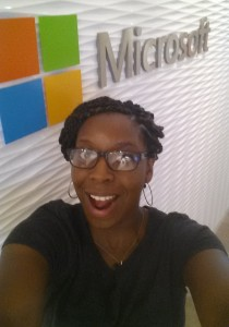 Siobhan's spending this summer working on some top secret stuff for Microsoft!