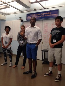 Team Phisher | STEM Camp '14 | Seidenberg