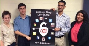 Dr. Houle's UNV 101 class takes on cybersecurity
