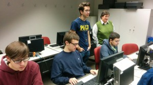 High School Students explore Robotics & Game Programming @ Pace