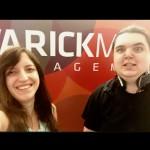 Hana and Ethan Garrison striking a pose at Varick MM.