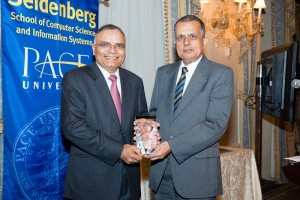 Mr. Surya Kant receives his LST Award from Dean Gupta