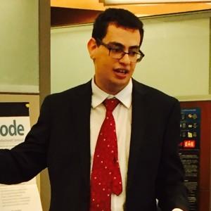 Alumnus Doug Kandl talks cybersecurity at Seidenberg
