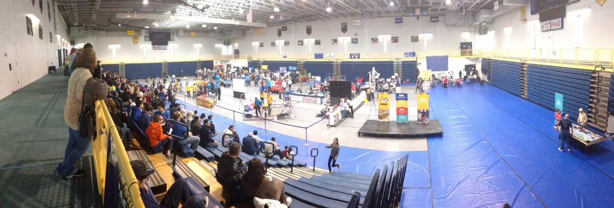 Robot wars at the 7th FIRST® Tech Challenge Hudson Valley Championship Tournament!