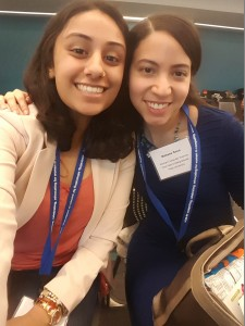 Karishma Saini (left) and Rohana Sosa (right)