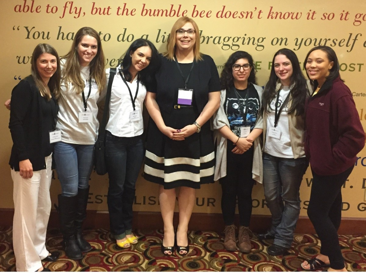 Seidenberg hits the 2016 Women in Cybersecurity Conference