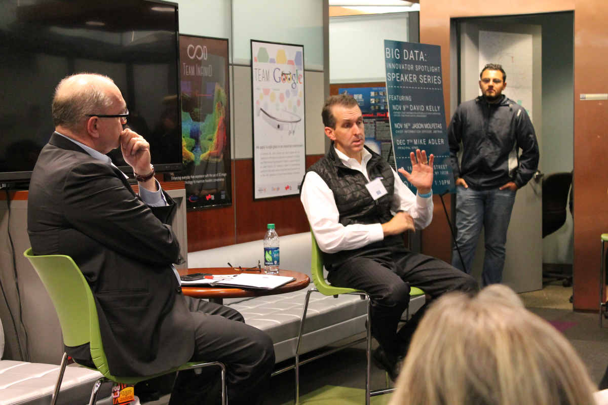 Alumnus David Kelly speaks at Big Data Innovator Series
