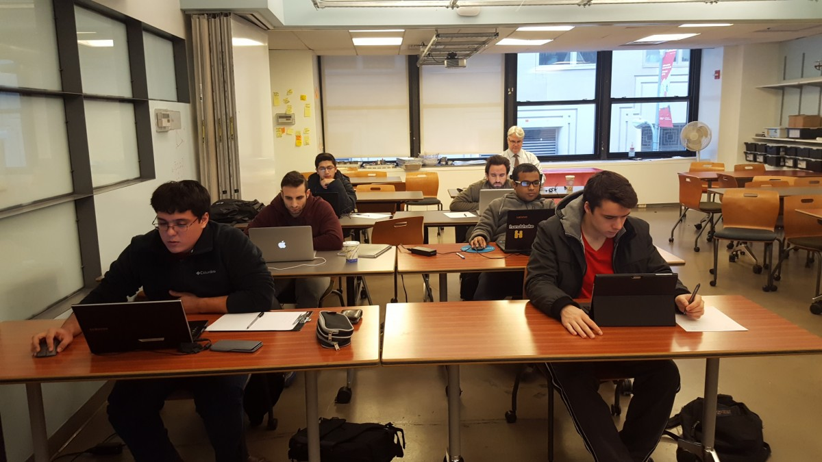 First batch of Seidenberg students take Cisco networking exam