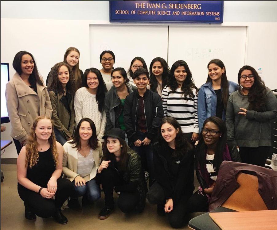 Pace Women in Tech celebrates official club status in first meeting