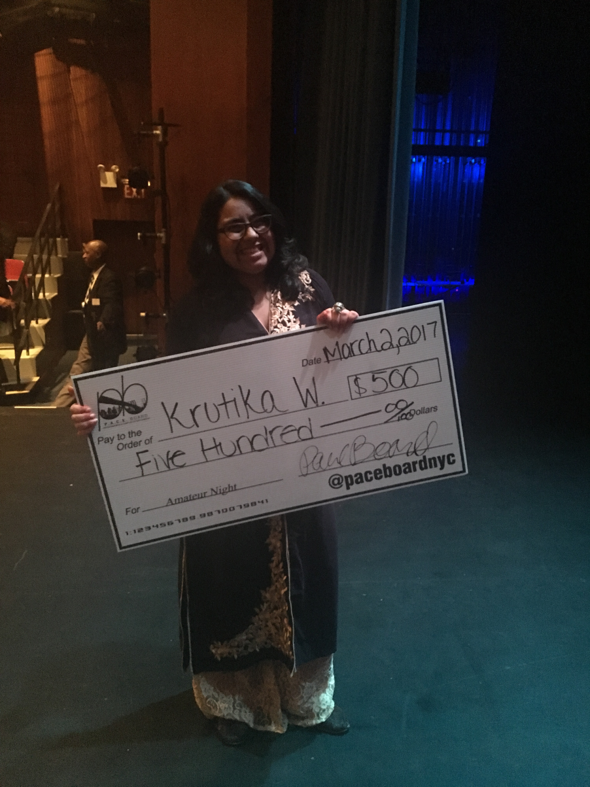 Krutika Wadhwa brings Indian culture and dance to the Pace University stage