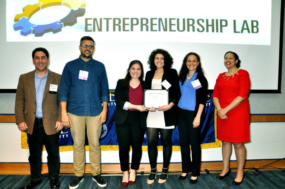 Seidenberg students snatch first and second spot at Pace Pitch Contest