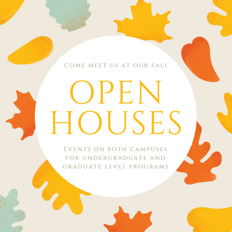 Come meet the Seidenberg School at our Fall Open Houses!