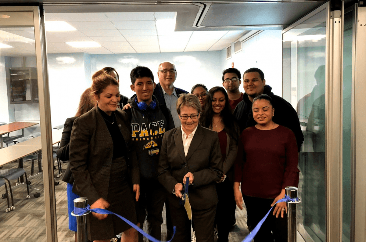 Pace University Opens New Learning Space Bringing Computer Science Projects to Life