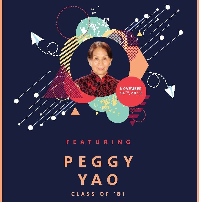 Peggy Yao inspires mindfulness through a discussion and lunch at Pace University on November 14