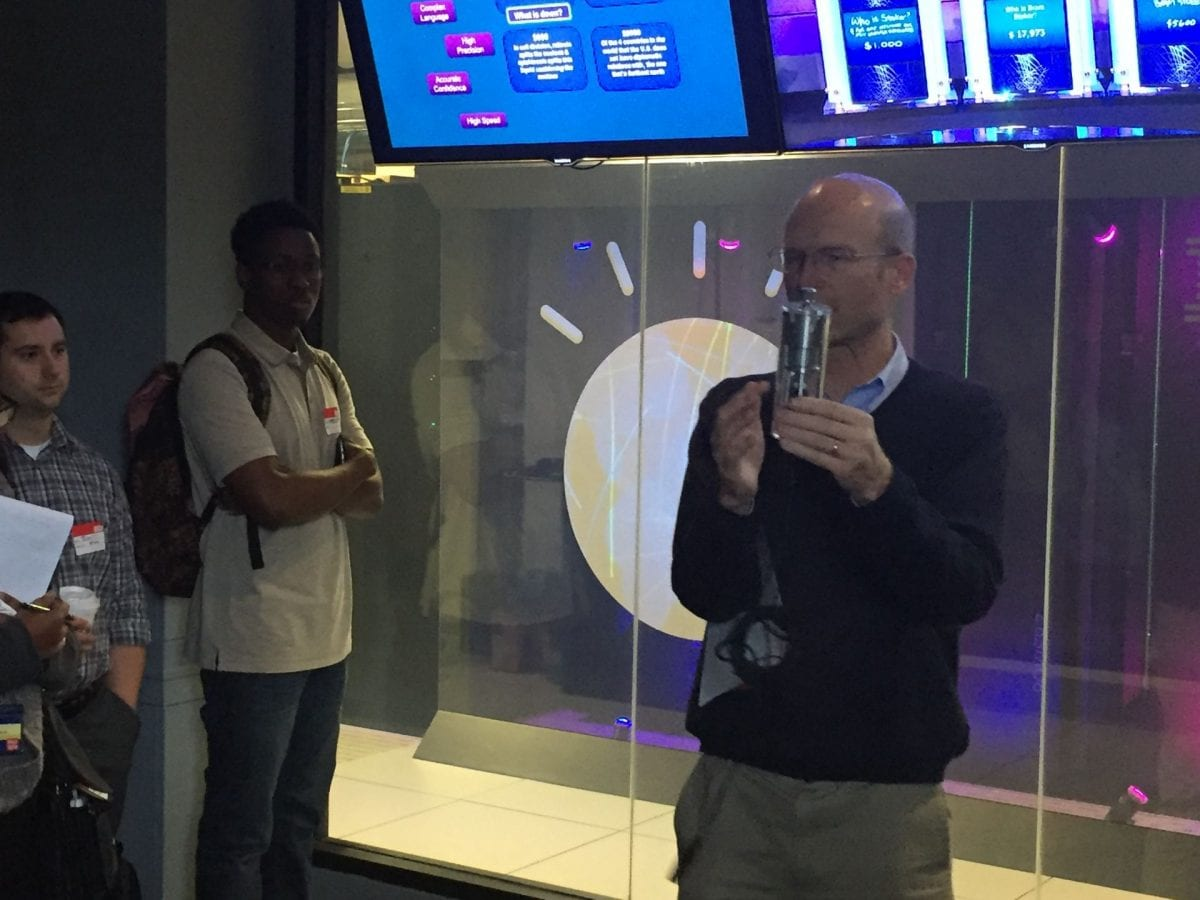 Pace University Seidenberg students visit IBM for artificial intelligence insights