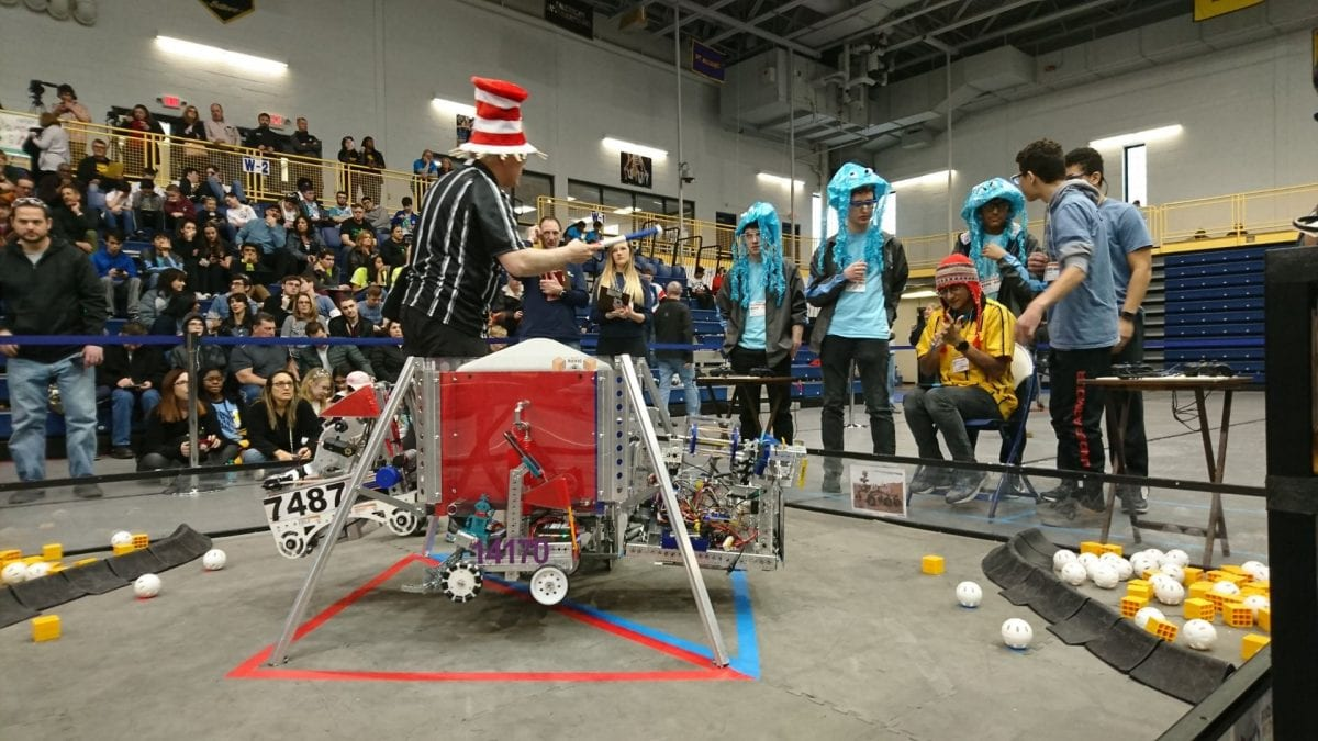 Battle of the Bots at Pace University