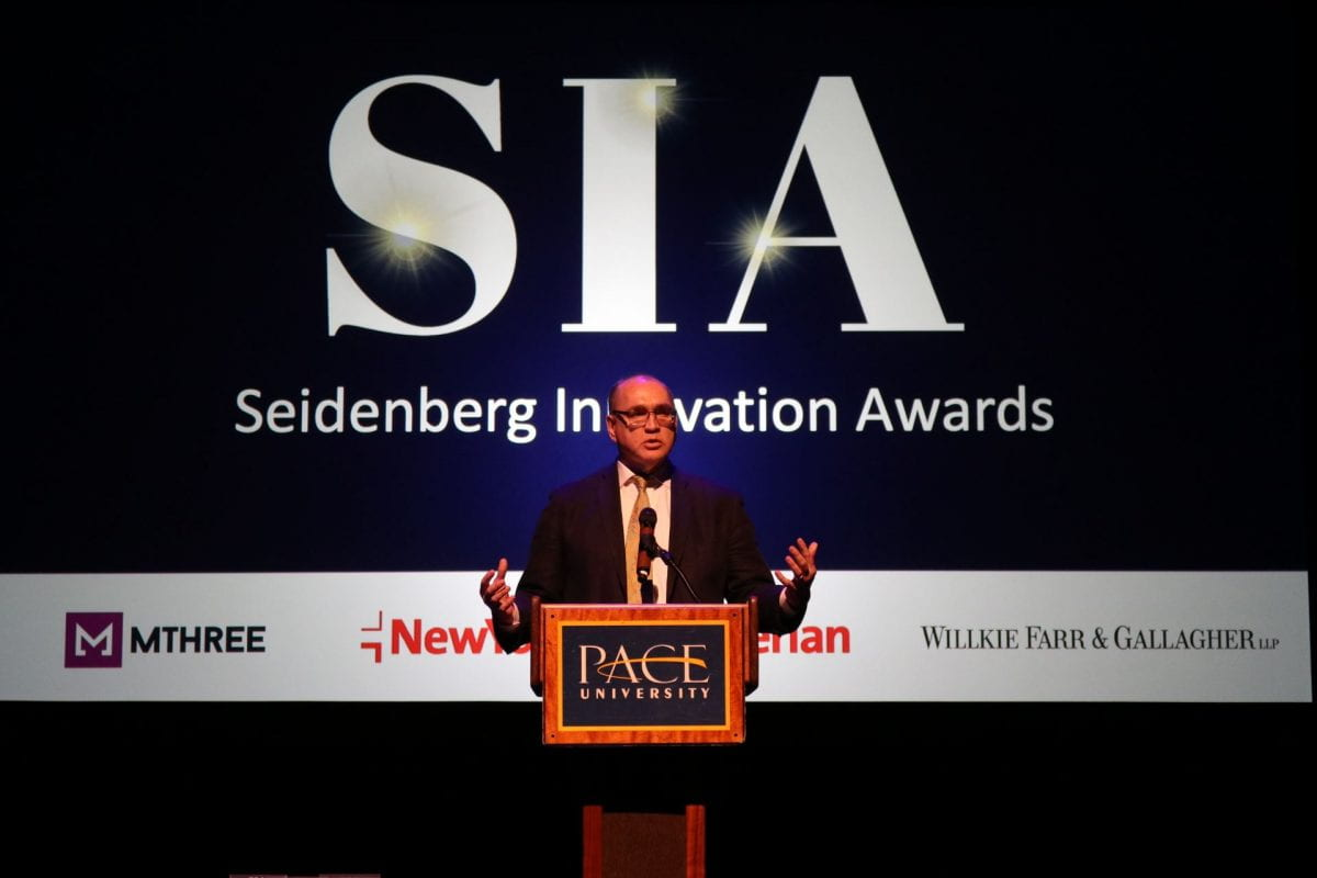 Seidenberg Innovation Awards honors the top tech innovators of today, supports tech innovators of tomorrow