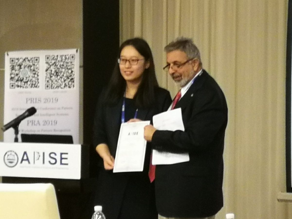 "Seidenberg PhD candidate Sukun ""Luna"" Li presents paper in Shanghai, wins 'Best Presenter' award"