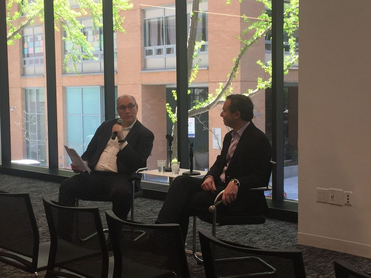 The Seidenberg Tech Leadership Series wrapped up with Qlik CEO, Mike Capone