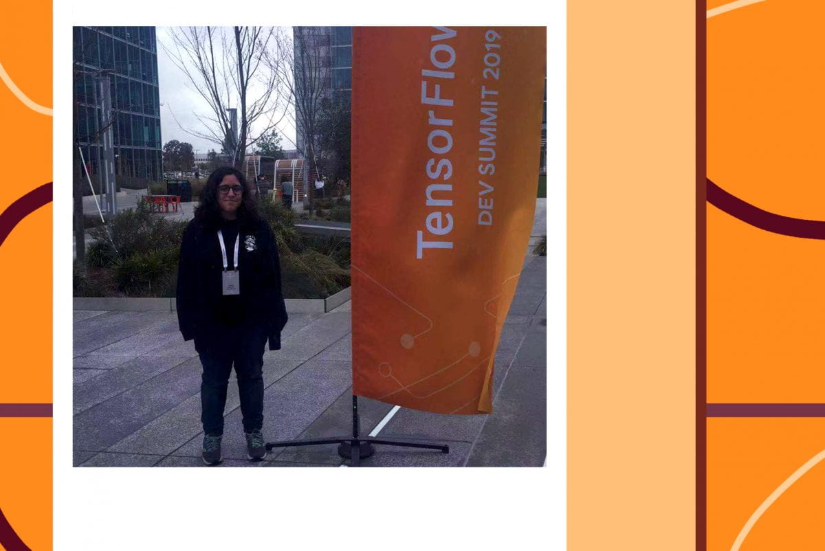 Student Spotlight: Rebecca D'Agostino attends TensorFlow Dev Summit 2019