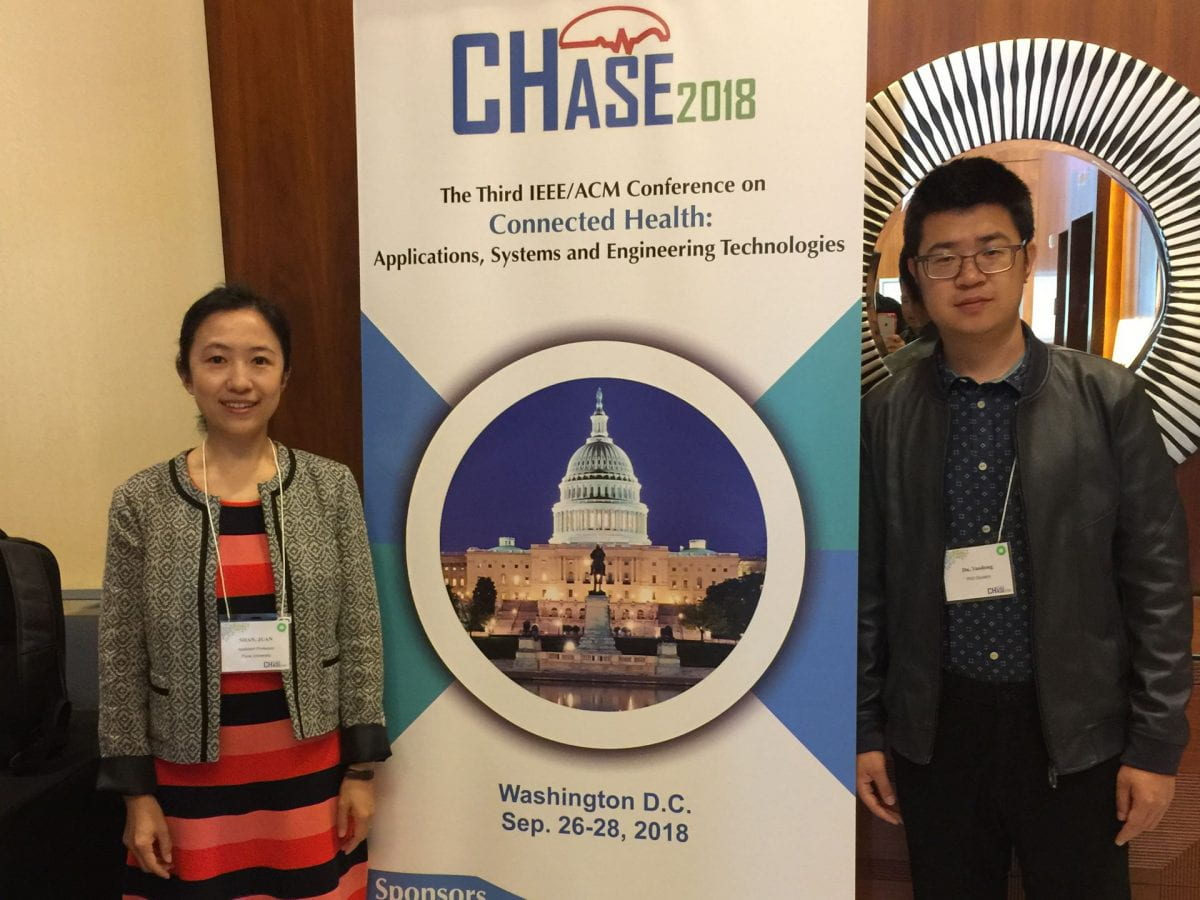 Seidenberg student attends CHASE2018 Conference