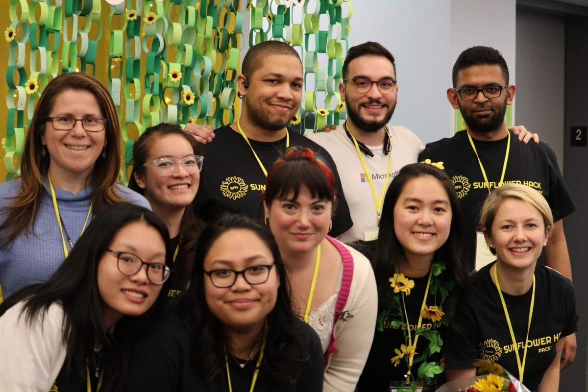 Pace Women in Tech host Sunflower Hack