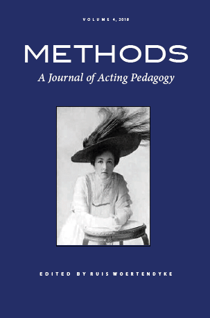 Methods A Journal Of Acting Pedagogy Pace Press