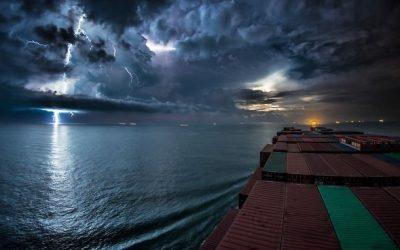 "EarthDesk Sunday: ""30 Days Timelapse at Sea"" by JeffHK"