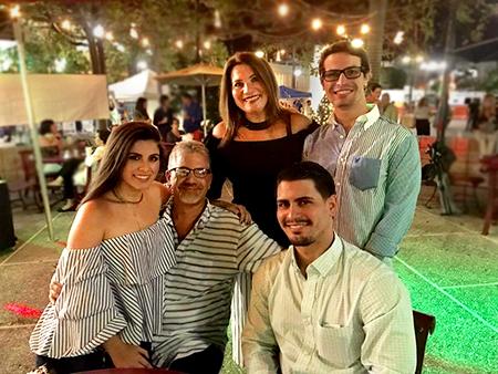 Pereira family, Caguas, Puerto Rico