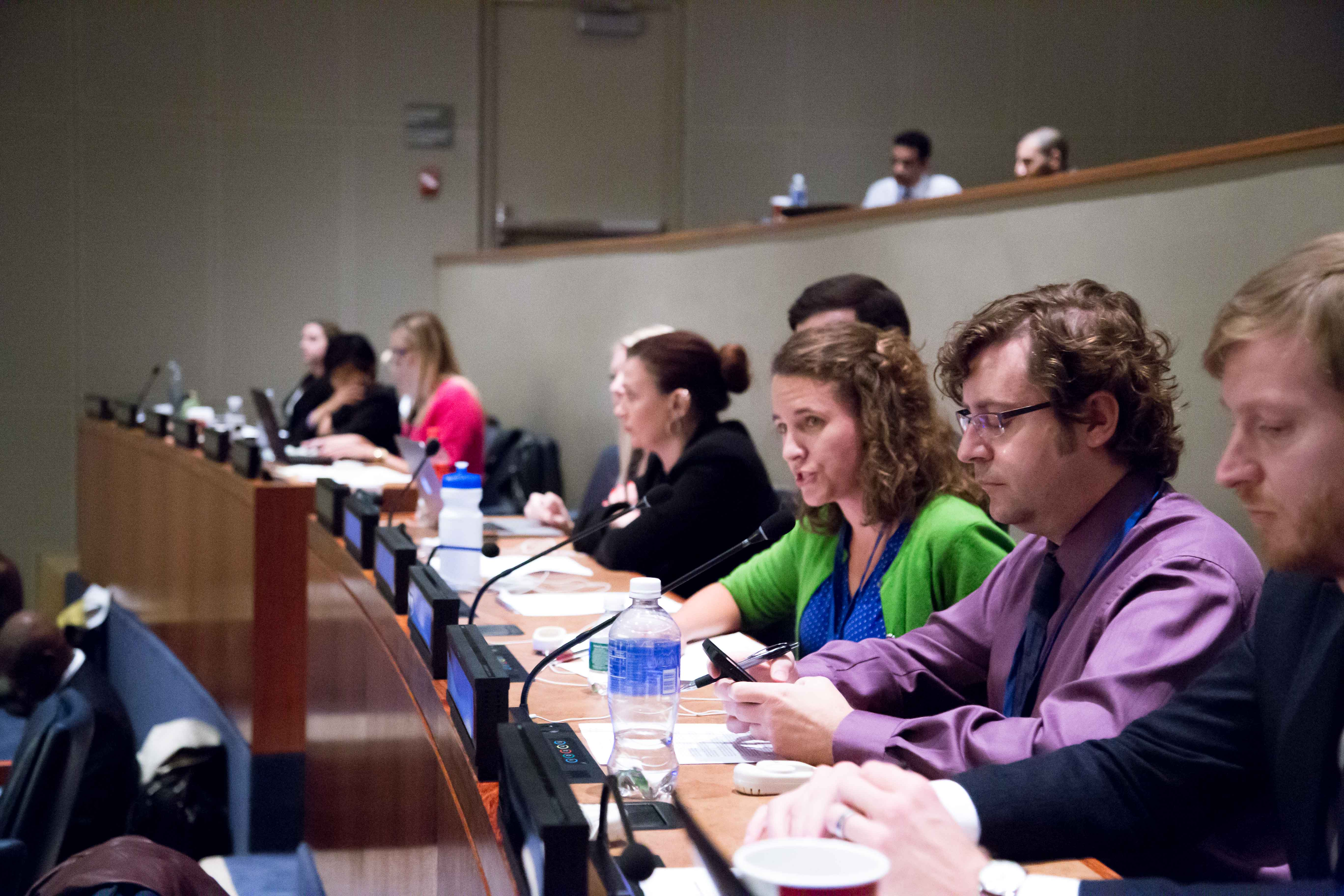 Dr. Emily Welty, Assistant Professor and Director of Peace and Justice Studies at Pace University New York City, challenges the UN General Assembly First Committee to take the gendered dimensions of disarmament more seriously.