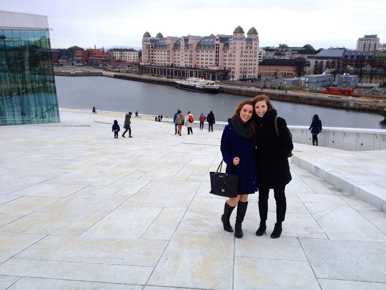 Lindita Capric '15 and Kyla Korvne '15 were recognized with awards for their excellent diplomatic skills in the 2015 OsloMUN conference in Norway.