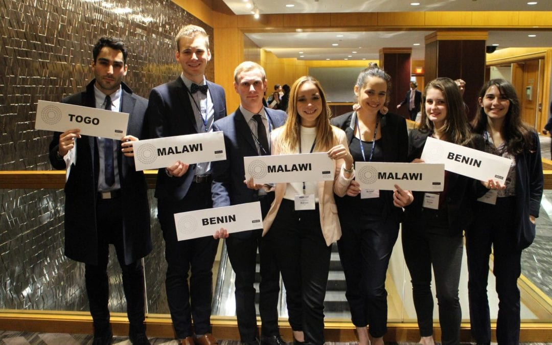 Pace Students Excel at 2018 National Model UN in DC