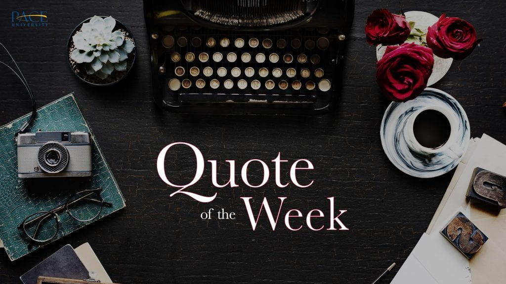 Quote of the Week | Emily Dickinson