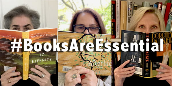 #BooksAreEssential