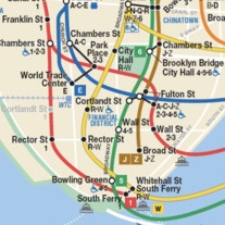 How To Read A Subway Map.How To Take The Subway In Nyc English Language Institute At Pace