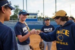 Pace womens softball team