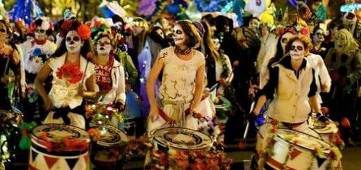 Halloween parade Greenwich Village NYC