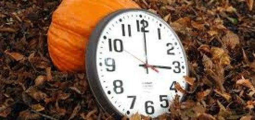 Daylight Savings-Fall back