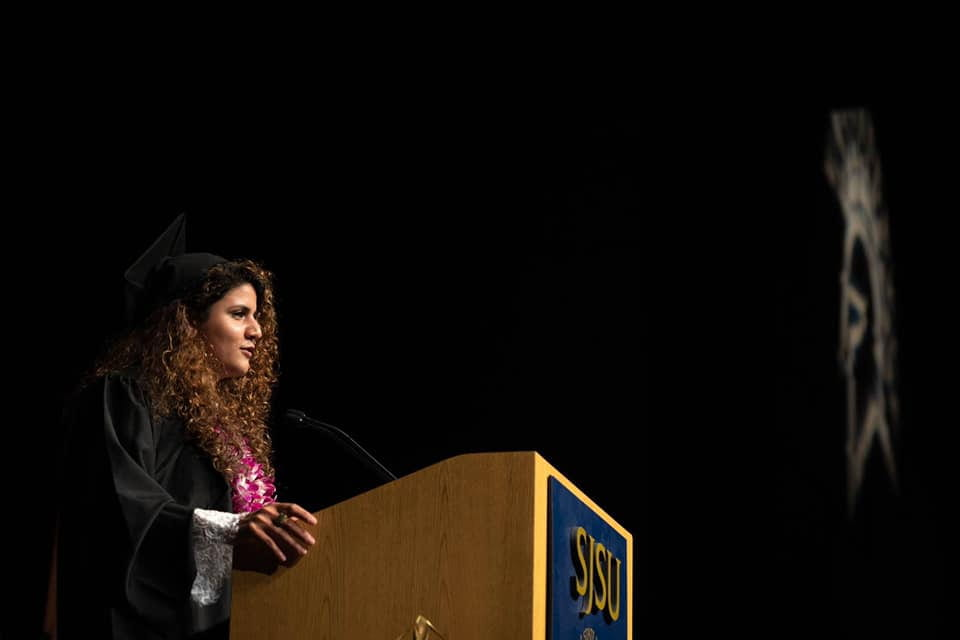Lurie College Student Commencement Speaker Jasmin Roley (MA, Special Education)