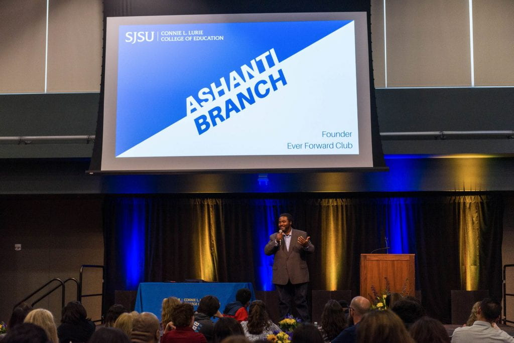 SJSU Lurie College of Education Celebration of Teaching Keynote Speech by Ashanti Branch