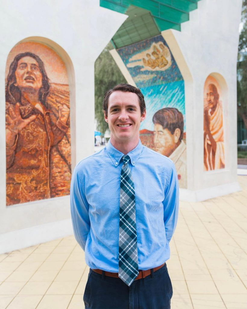 SJSU Lurie College of Education Teacher Education Department Graduate Student George Kerber