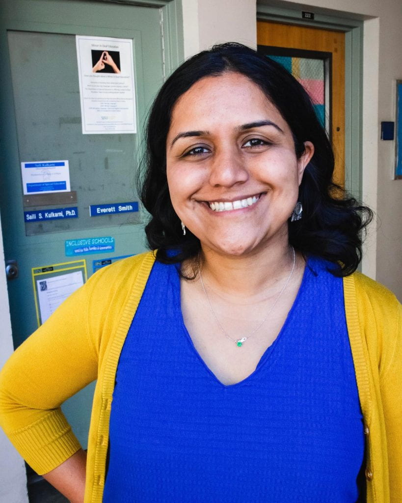 SJSU Lurie College of Education Special Education Department Faculty Saili Kulkarni