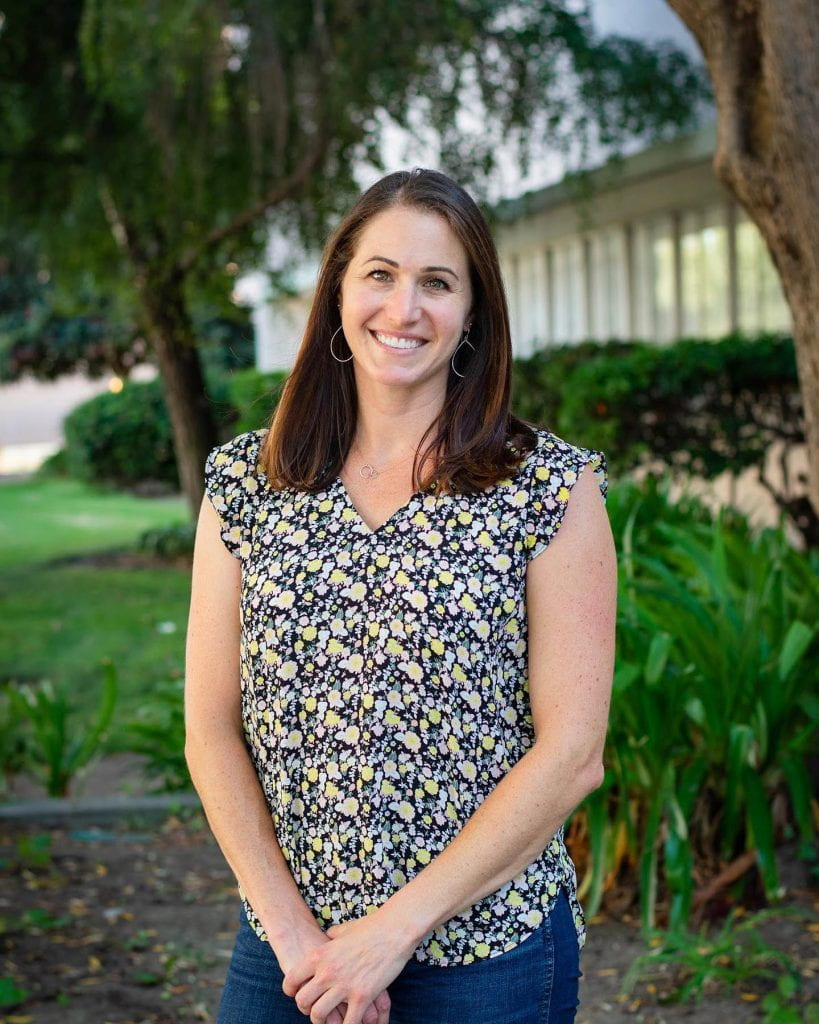 SJSU Lurie College of Education Teacher Education Graduate Student Danielle Patenaude