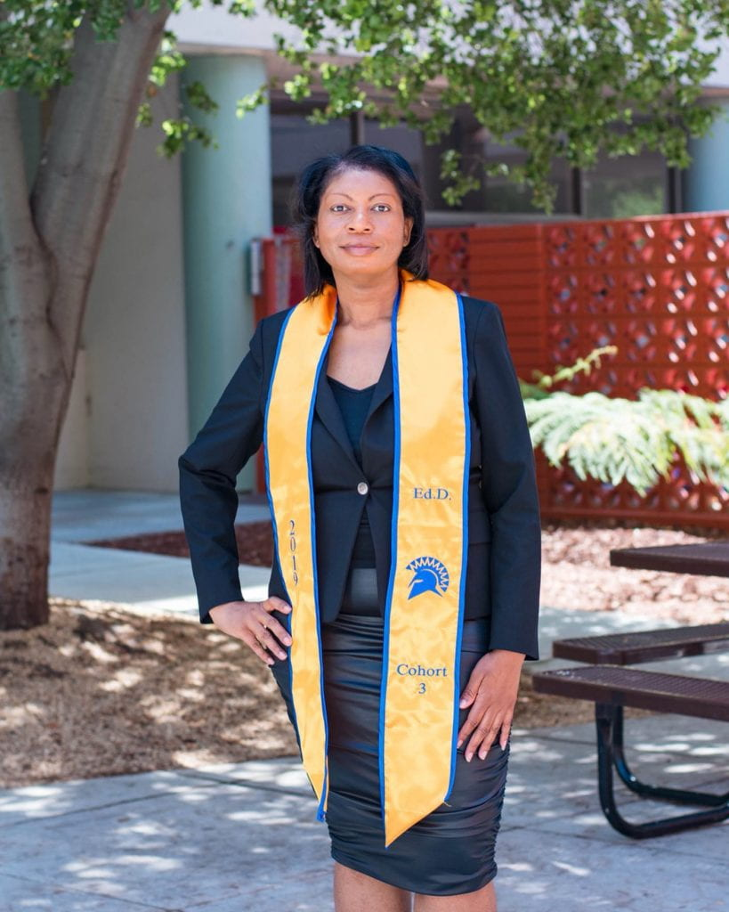 SJSU Lurie College of Education EdD Leadership Program Student Annette Kennedy