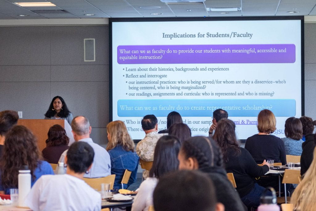 SJSU Lurie College of Education Special Education Department Faculty Saili Kulkarni University Scholar Series 5