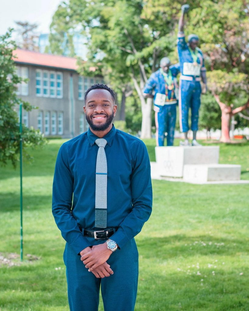 SJSU Lurie College of Education Teacher Education Department Graduate Student DeAnte Whitman