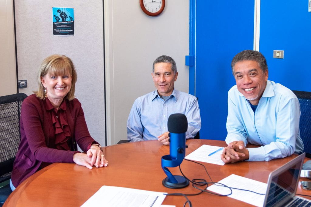 SJSU Lurie College of Education Innovations Podcast Lisa Simpson David Whitenack Mark Felton